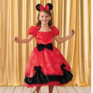 Disney Chasing Fireflies Minnie Mouse Costume New